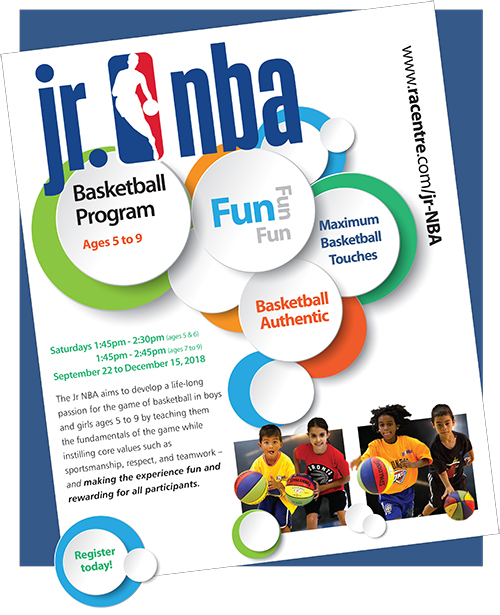 JR NBA Basketball Program